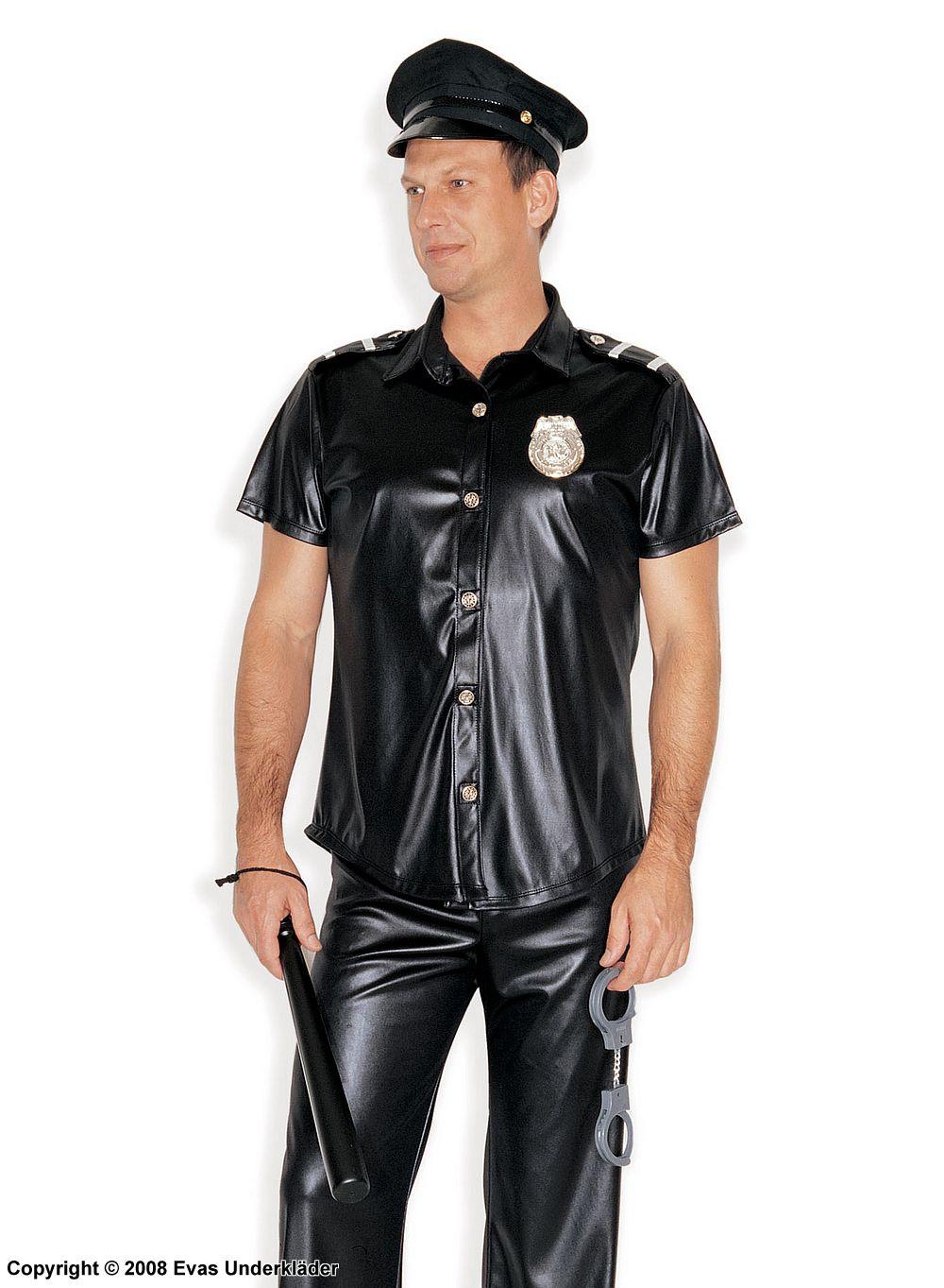 sexiga underkläder set polisuniform maskerad